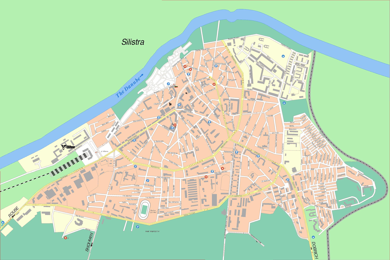Karta Goroda Silistra 56 Silistrenskaya Oblast Besplatno