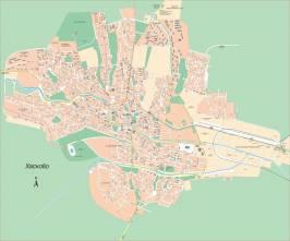 Карта города Хасково