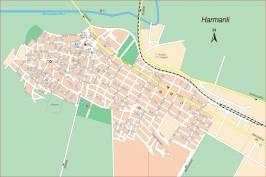 Карта города Харманли