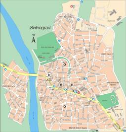 Карта города Свиленград