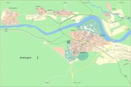 Карта города Димитровград