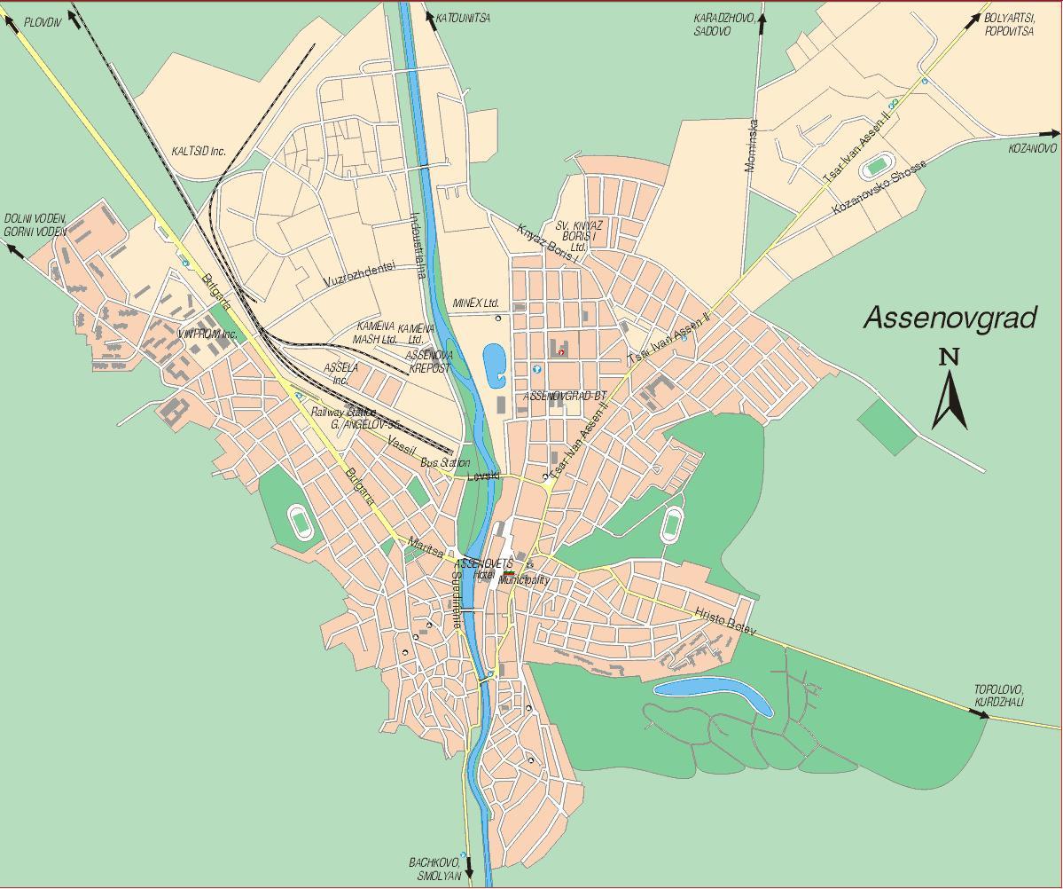Karta 2019 Karta Na Asenovgrad
